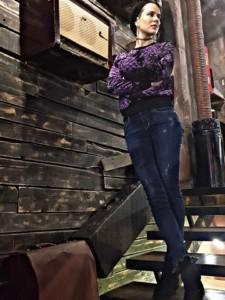 jeans and velvet