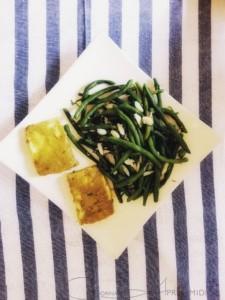 Самые вкусные из полезных рецептов: салат из лосося и запеченный палтус со стручковой фасолью c Corina ApresMidi