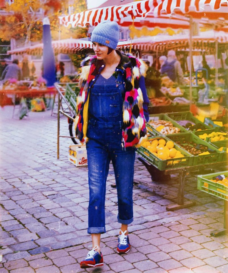In love with overalls with Corina ApresMidi