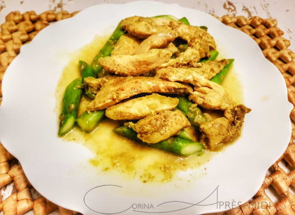 CURRIED CHICKEN with CorinaApresMidi